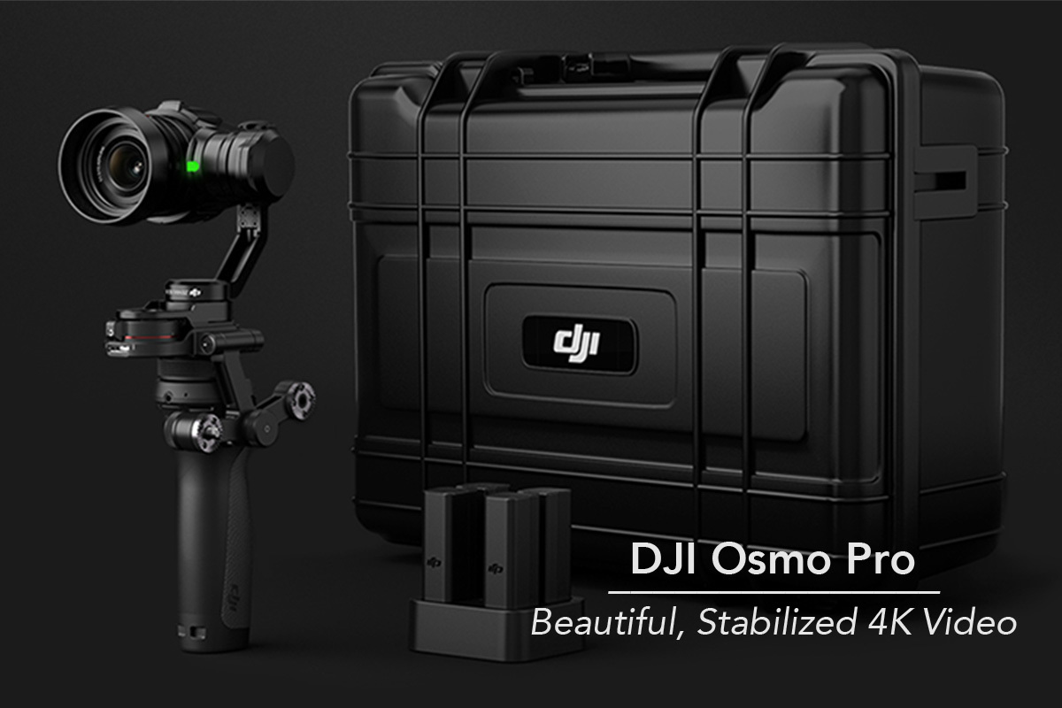 DJI Osmo Pro 4K camera rental from Deck Hand