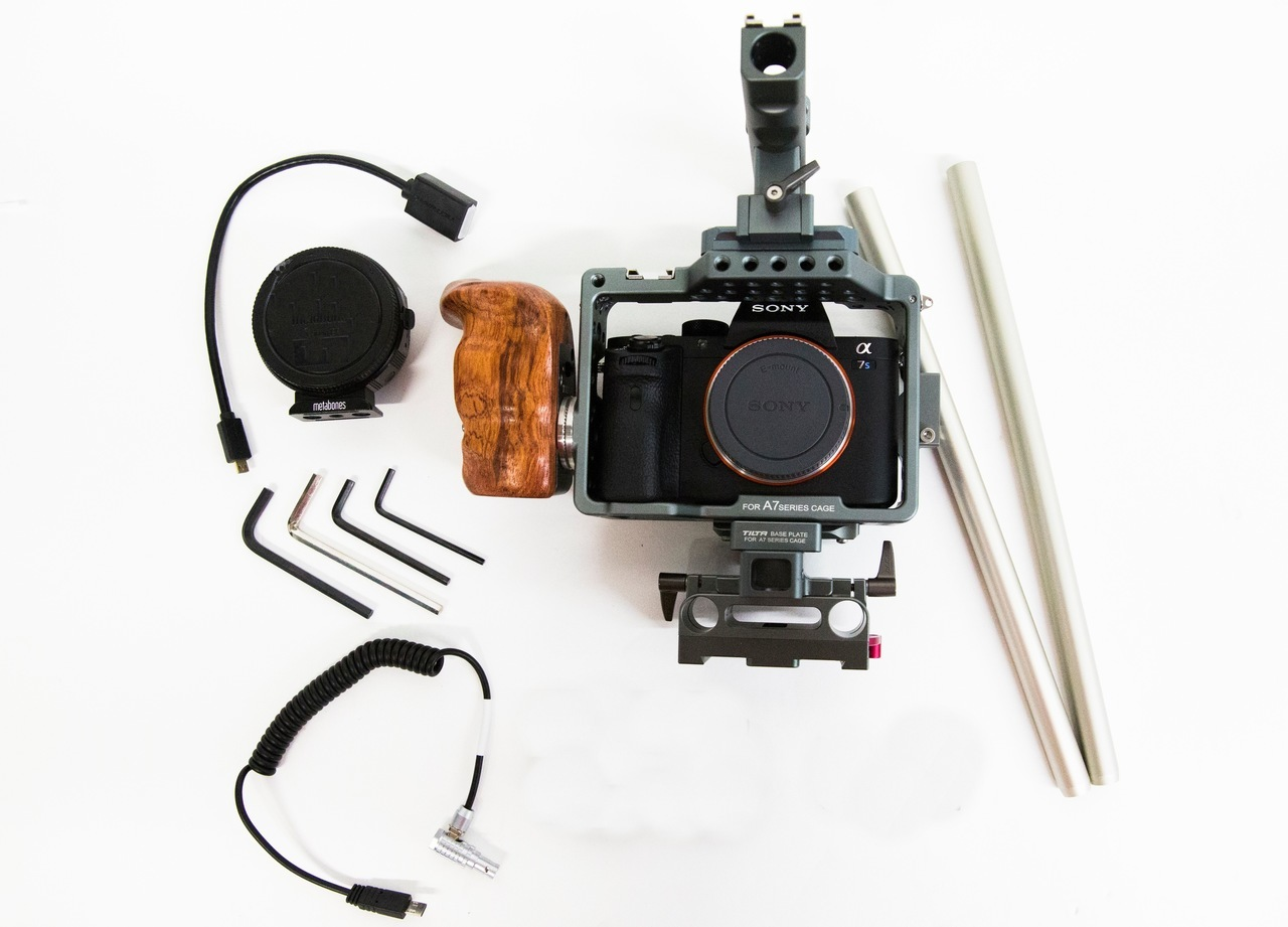 Sony a7S-II Camera Kit that can be rented in Los Angeles from Deck Hand Cameras