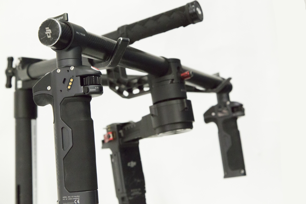 Tilta Nucleus-M Wireless Follow Focus Handles for Ronin