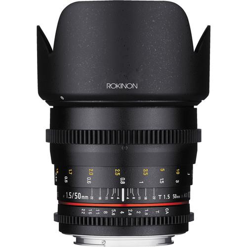 Rokinon 50mm Lens