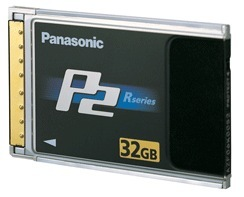 Panasonic 32GB P2 Card