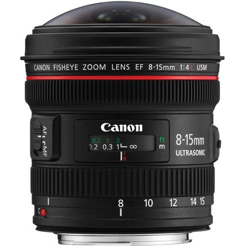 Canon EF 8-15mm Lens