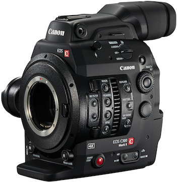 Rent Canon C300 Mark II 4K Camera