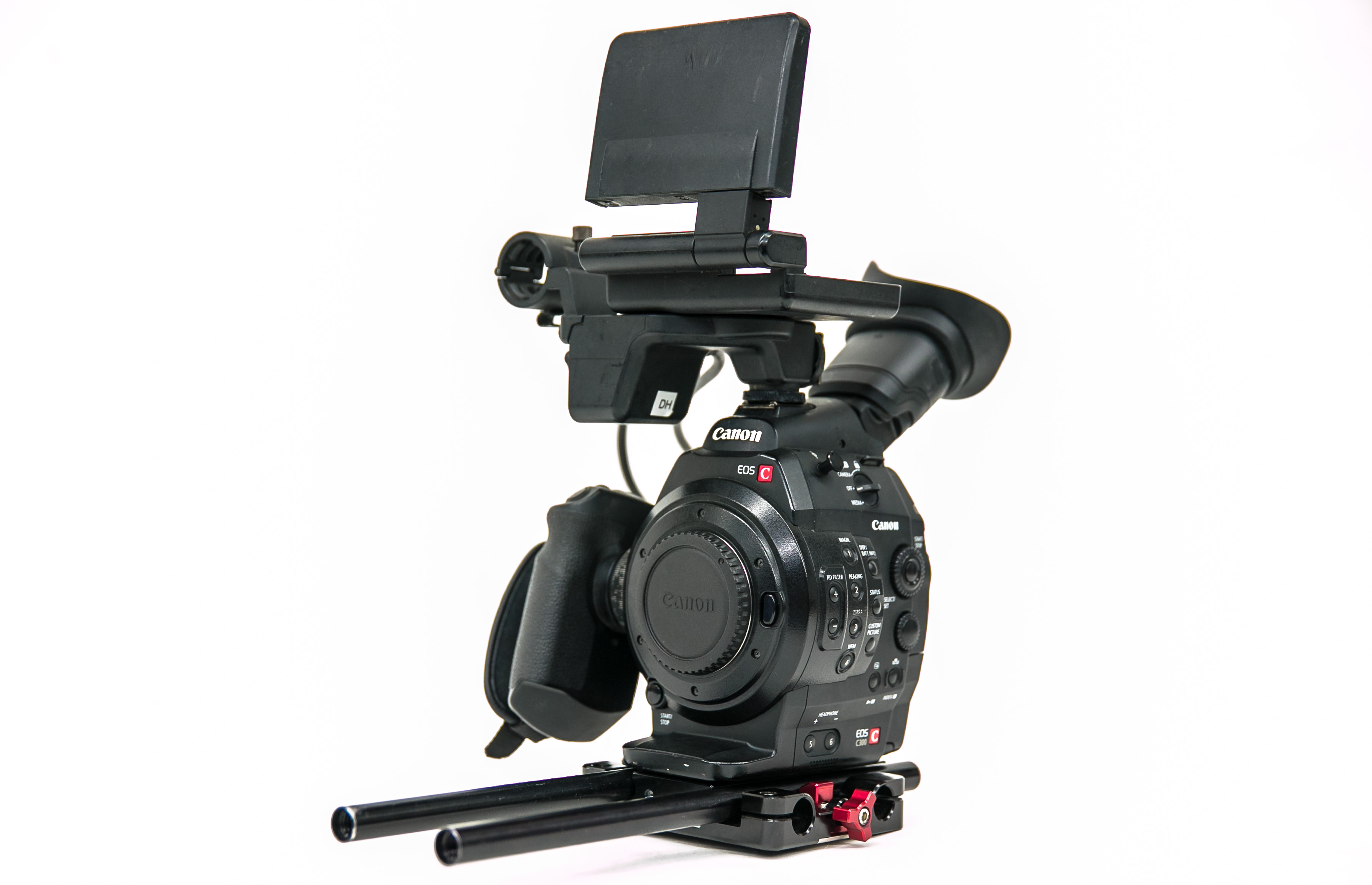 Canon C300 EF Camera and EF lenses for rent in Los Angeles, Glendale, Burbank