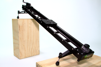 Kessler 3ft Cineslider on Apple Boxes