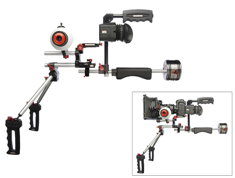 Zacuto Double Barrel Shoulder Rig
