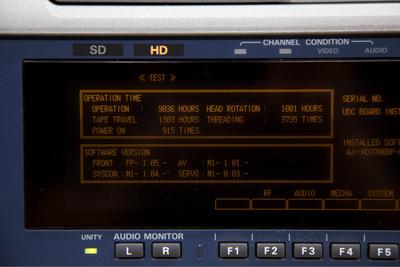 Panasonic AJ-HD3700B D-5 Deck