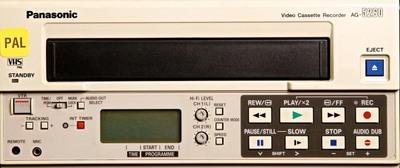 Panasonic AG-5260 PAL VHS VCR