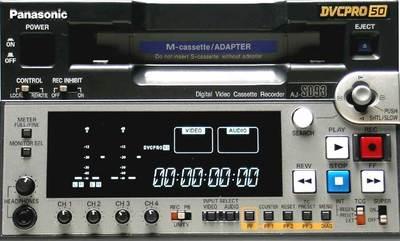 Panasonic AJ-SD93 DVCPro Deck