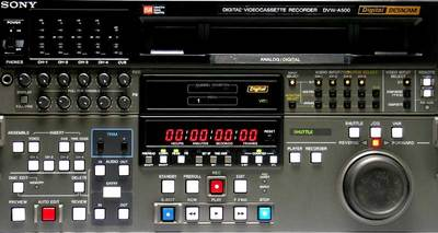 Sony DVW-A500 Digital Betacam Editing Recorder