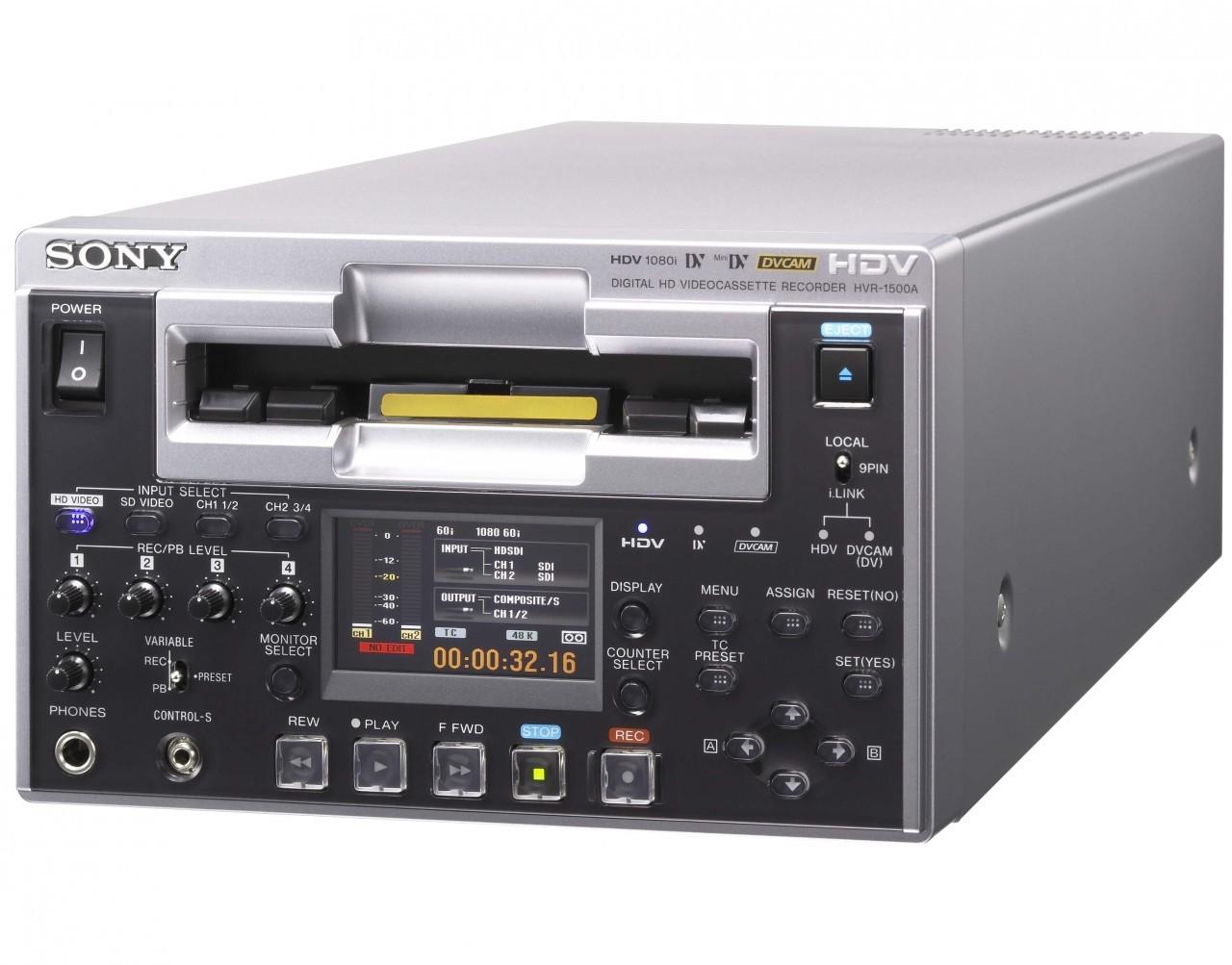 Sony HVR-1500A HDV VTR