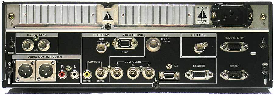 Sony J-H3 HDCAM Player