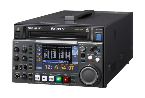 Sony PDW-F1600 XDCAM HD Deck