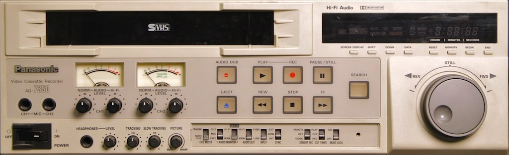 Panasonic AG-7350 SVHS VCR