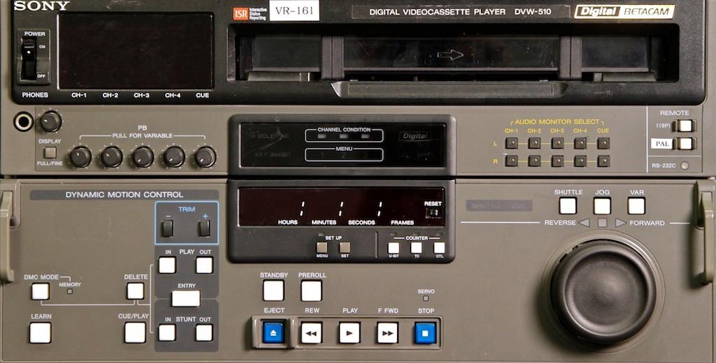 Sony DVW-510 Digital Betacam Player