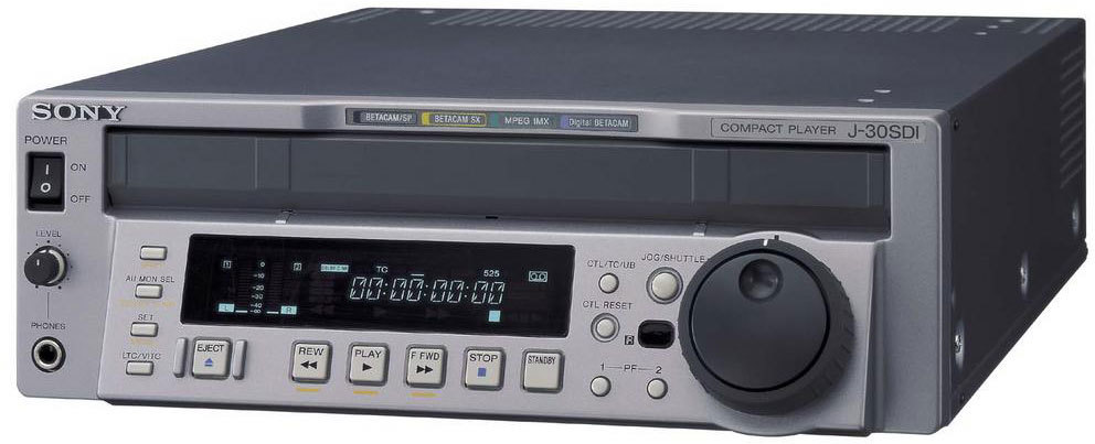 Sony J-30 Digital Betacam Player