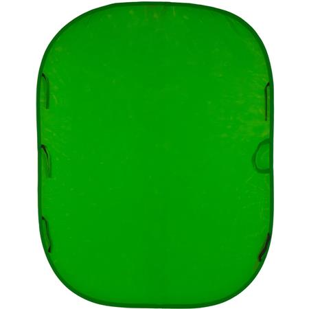 6X7 Green Chroma Key in Collapsible Frame