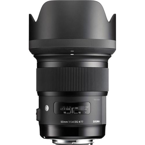 Sigma 50mm f/1.4 DG HSM Art Lens (EF)