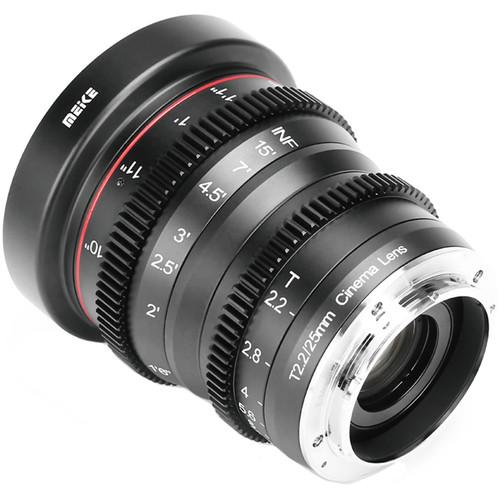 Meike 25mm T/2.2 Cinema Lens (MFT)