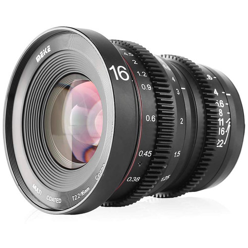 Meike 16mm T/2.2 Cinema Lens (MFT)