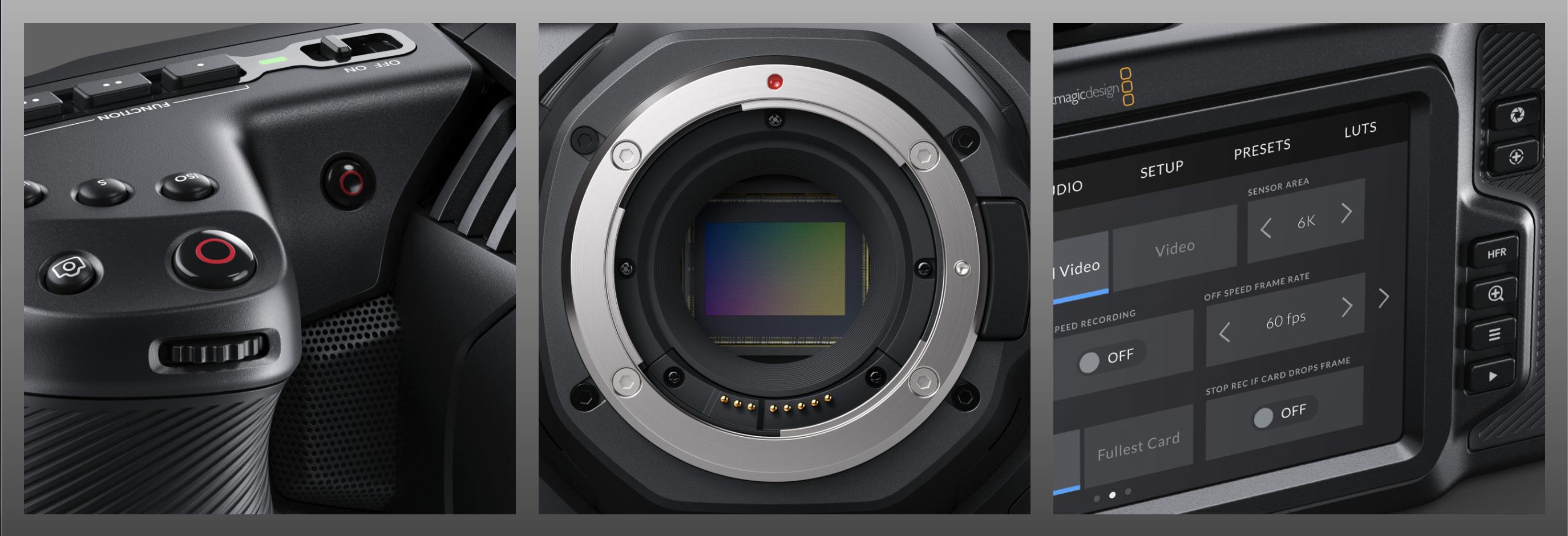 Rent Blackmagic Pocket Cinema Camera 6k Deckhand Camera Rentals