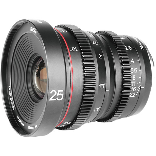 Meike 25mm T/2.2 Cinema Lens (MFT)